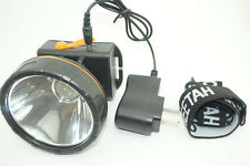 10W Power White LED Miner Light Headlight Mining Lamp Hunting Camping Fishing