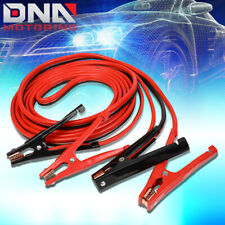 25' 500AMP CAR BATTERY BOOSTER CABLE 4 GAUGE EMERGENCY POWER JUMPER HEAVY DUTY