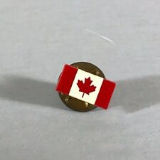 CANADIAN FLAG PIN, souvenir pin, keepsake pin, pin with maple leaf, gift for him