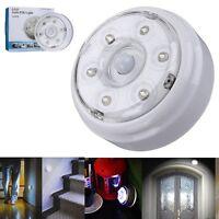 6 LED Wireless Infrared PIR AUTO Sensor Motion Detector Power Saving Light Lamp