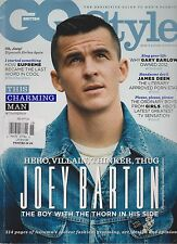 GQ Style Revista British Invierno 2012 , Joey Barton