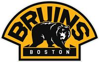 Boston Bruins NHL Color Die Cut Vinyl Decal Sticker - New Choose Size cornhole