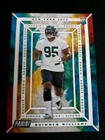 #61 QUINNEN WILLIAMS 2019 Panini Player of the Day RC NEW YORK JETS