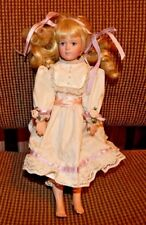 Gorham Ribbons And Roses  Doll by Cindy Shafer 1992 Doll