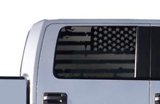 USA American Flag Decals windows - Fits Ford F-150 2009-2014 Raptor Sport FF6