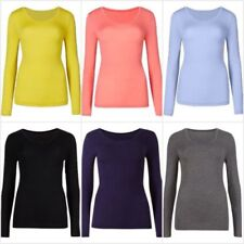 Marks and Spencer Acrylic Blend Scoop Neck Tops & Shirts for Women