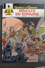BD godaille et godasse n°4 révolte en espagne EO 1986 TBE sandron