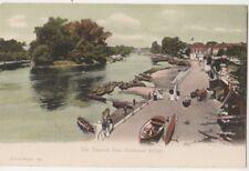 The Thames from Richmond Bridge, F.G.O. Stuart 354 Postcard B813