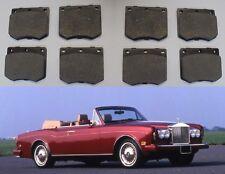(x8) Rolls Royce Corniche Front Brake Pads Set (** ** 95 de febrero de 1973)