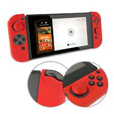 TUFF LUV Nintendo Switch Anti-slip Silicone protective Case (2 Parts) - Red