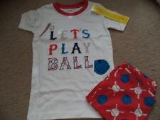 Gymboree Boy's Let's Play Ball Baseball Shorts Gymmies 6  - NWT