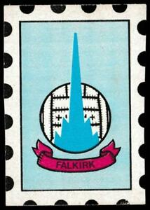 A&BC - 'Football Club Crests (Scottish)' (1971) - Card #9 - Falkirk