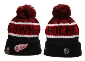 Detroit Red Wings Cap Hat NHL Hockey New Era Beanie