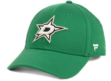 Men's Dallas Stars Basic Fan Structured Adjustable Strap OSFM Hat Cap NHL Hockey