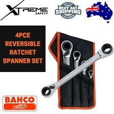 Bahco 4pce Reversible Ratchet Spanner Set #S4RM/4T