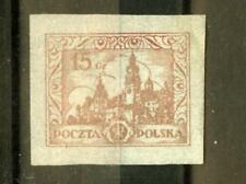 Poland: 15gr Fi. 210 imperf. essay (proof?) Mnh, signed Gryzewski