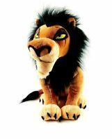 "Disney Store Scar Plush Stuffed Animal The Lion King LARGE 18"" STAMPED 2011 RARE"