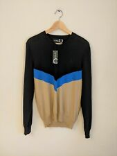 RAF Simons X Fred Perry Men's Chevron Jumper Size 38 BNWT