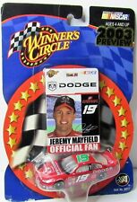 Jeremy Mayfield #19 2003 Preview Diecast Car with Official Fan Card