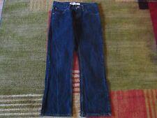New Levi's Boot Cut 527 Boys Mens Denim Blue Jeans Sz 28x28 16 Reg
