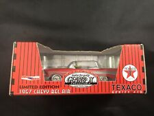 Vtg Gearbox Collectible 1957 Chevy Bel Air Texaco Pedal Car Red 6777/9600 New