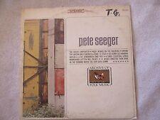 Pete Seeger Archive of Folk Music LP Everest FS 201 PRICE CUT