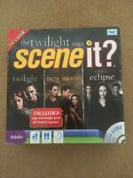 Scene It? Twilight Deluxe Edition Vampire Family DVD Board Game