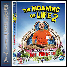 THE MOANING OF LIFE - COMPLETE SERIES 2  *BRAND NEW DVD***