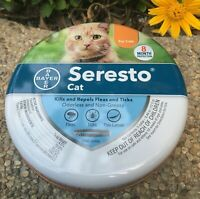Bayer Seresto flea and tick collar, 8-month flea and tick prevention for cats