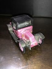 """Vintage """"Corgi Classics"""" 9031 1910 Renault in Pink12/16 As Is"""