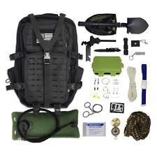 Bug Out Bag Kit - Survival Backpack + Bladder, Survival Gear & Emergency Tools