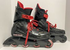 Rollerblade Macroblade 30.0 red and black Made in Italy Vintage 1994. Read Desc