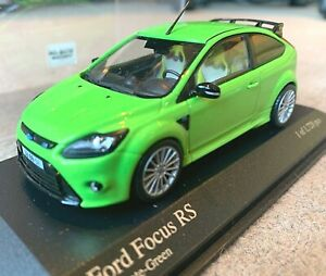 Minichamps Ford Focus RS Ultimate Green 2009 1/43 Ltd Edn model car 400088102