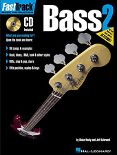 FAST TRACK BASS BOOK 2 Tutor Sheet Music & CD Learn How To Play