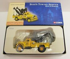 Corgi - Mack B Wrecker Buzz's Towing Service. 1:50, MIB. Discontinued.