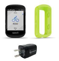 For Edge 830 Garmin Silicone Case Bike Computer Protection Green