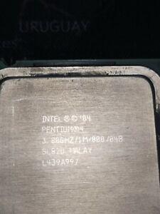 PROCESADOR PENTIUM 4  EXTREME 570J 3.80 GHZ HT SOCKET 775