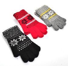 Damen-Winterhandschuhe aus Acryl