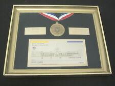 1984 Los Angeles Olympics OPENING CEREMONY Medal / Ticket George Vavrek
