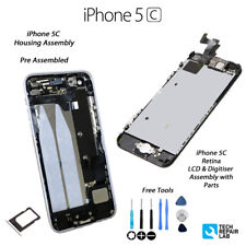 Nouveau Complet LCD Assembly + Back Cover Housing Replacement for iPhone 5 C-BLANC