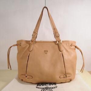 Authentic MCM Leather Cross Shoulder Bag + Dust Bag