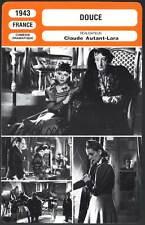 DOUCE - Joyeux,Robinson,Autant-Lara (Fiche Cinéma) 1943 - Love Story