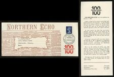 NEWSPAPER ILLUSTRATED 1970 NORTHERN ECHO CENTENARY COVER DARLINGTON
