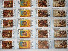 La Libye Libye 1983 KLB 1154-61 1108-09 paintings peinture van Gogh rafaël art MNH