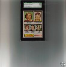 1977-8 OPC #2 Assists Leaders Guy Lafleur Marcel Dionne & L. Robinson SGC 98/10