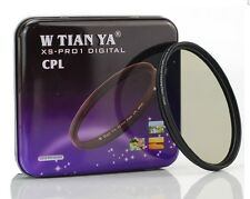 W TIANYA XS-Pro 1D 52mm CPL filter Ultrathin optical filter