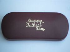 FATHERS DAY brand new red metal glasses case GREAT GIFT!!!