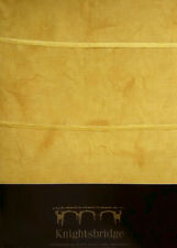 DOUBLE BED DUVET COVER SET GOLDEN MUSTARD YELLOW EMBROIDERY DETAILING POLYCOTTON
