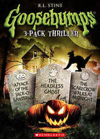 GOOSEBUMPS ATTACK OF THE JACK OLANTERNS/HEADLESS GHOST/SCARECROW WALKS (DVD) NEW