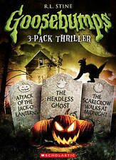 Goosebumps: Attack of the Jack OLanterns/The Headless Ghost/The Scarecrow Walks
